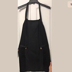 Balmain Knitted Halter Tube Dress Open Back NWT 38